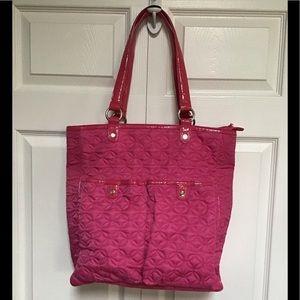Vera Bradley hot pink quilted bag
